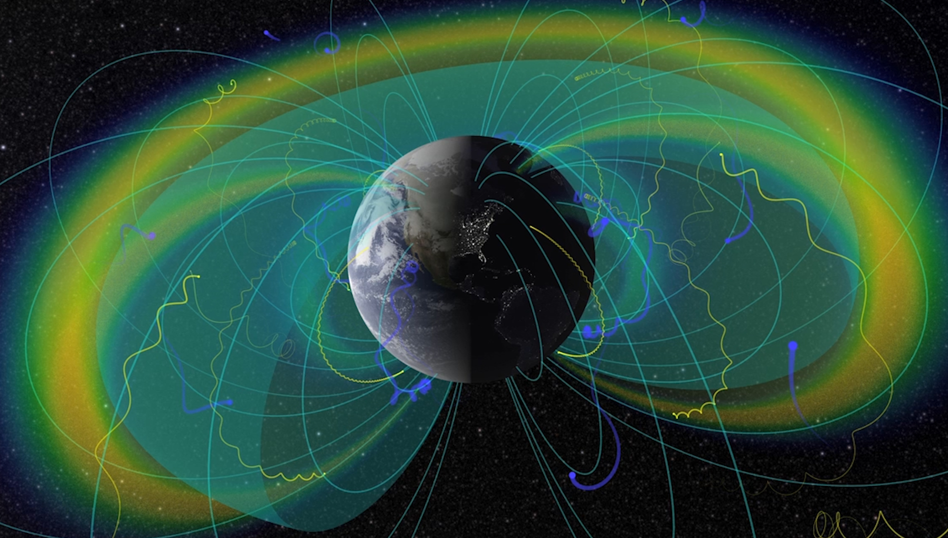 Weak Spot in Magnetic Field May Be Linked to Remains From Ancient Planet